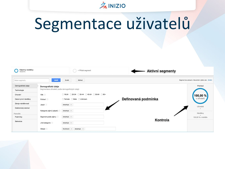 Segmentace uživatelů