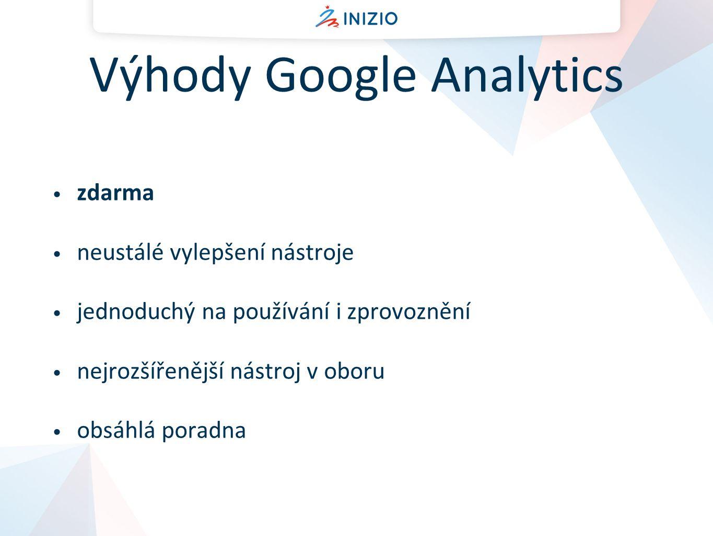 Výhody Google Analytics