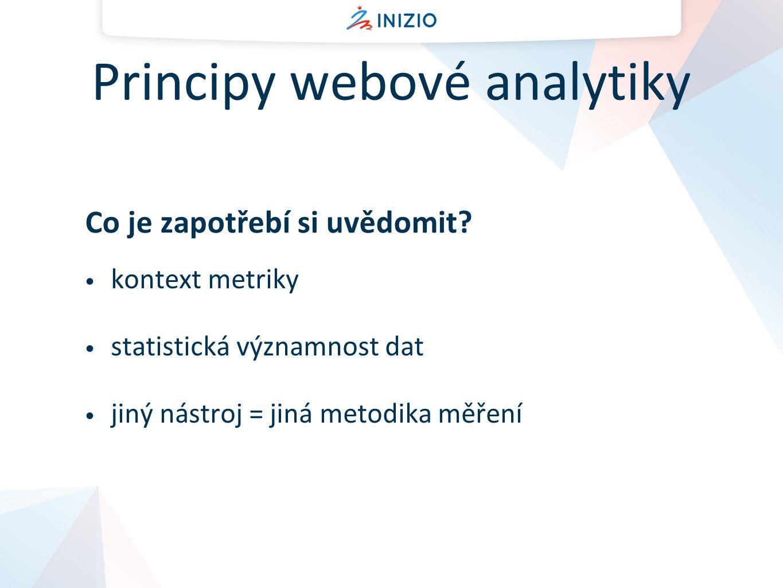 Principy webové analytiky