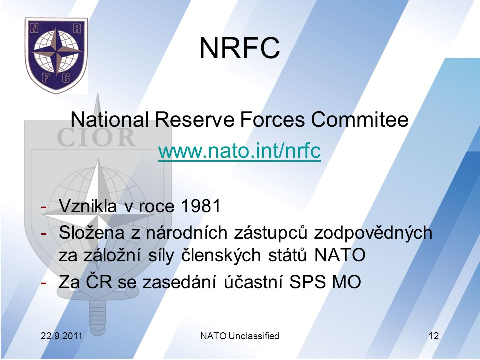 National Reserve Forces Commitee
