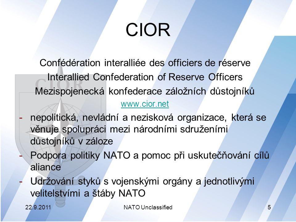 CIOR Confédération interalliée des officiers de réserve