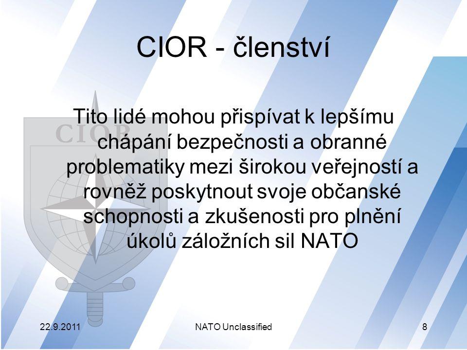 CIOR - členství
