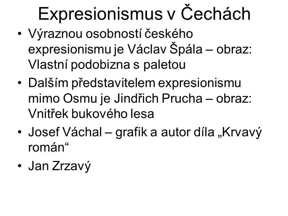 Expresionismus v Čechách