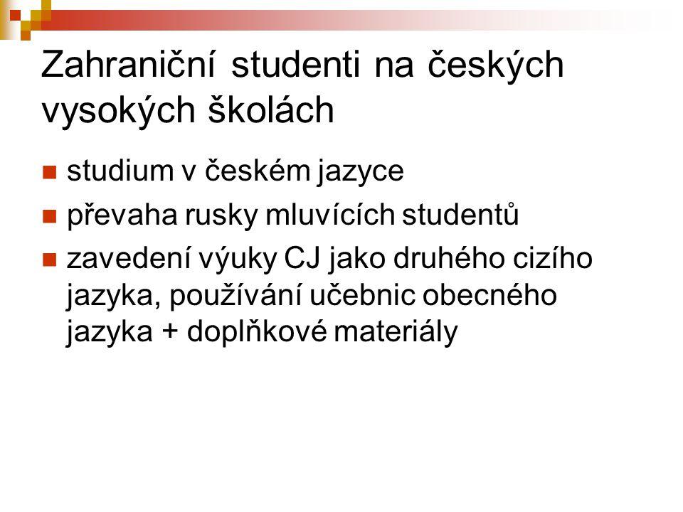 Zahraniční studenti na českých vysokých školách