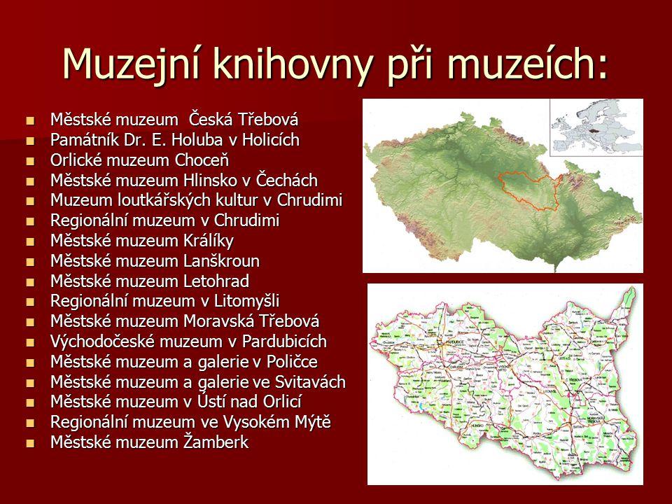 Muzejní knihovny při muzeích: