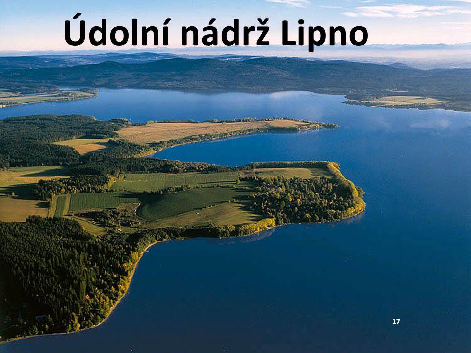 Údolní nádrž Lipno 17