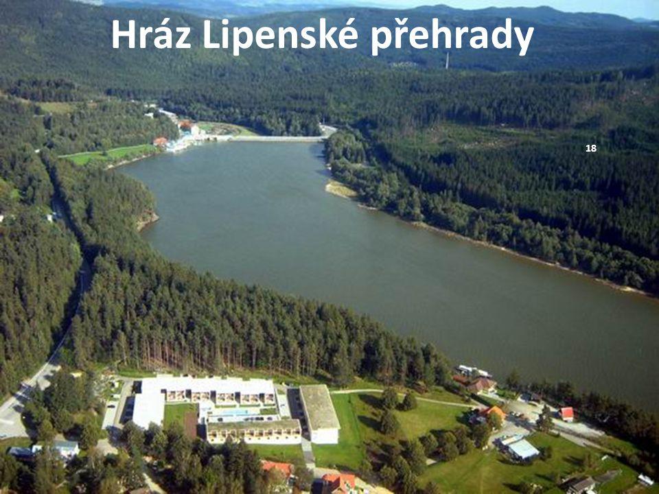 Hráz Lipenské přehrady