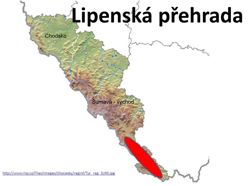 Lipenská přehrada http://www.risy.cz/Files/Images/jihocesky/reginf/Tur_reg_SUM.jpg
