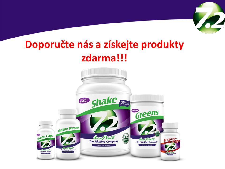 Doporučte nás a získejte produkty zdarma!!!