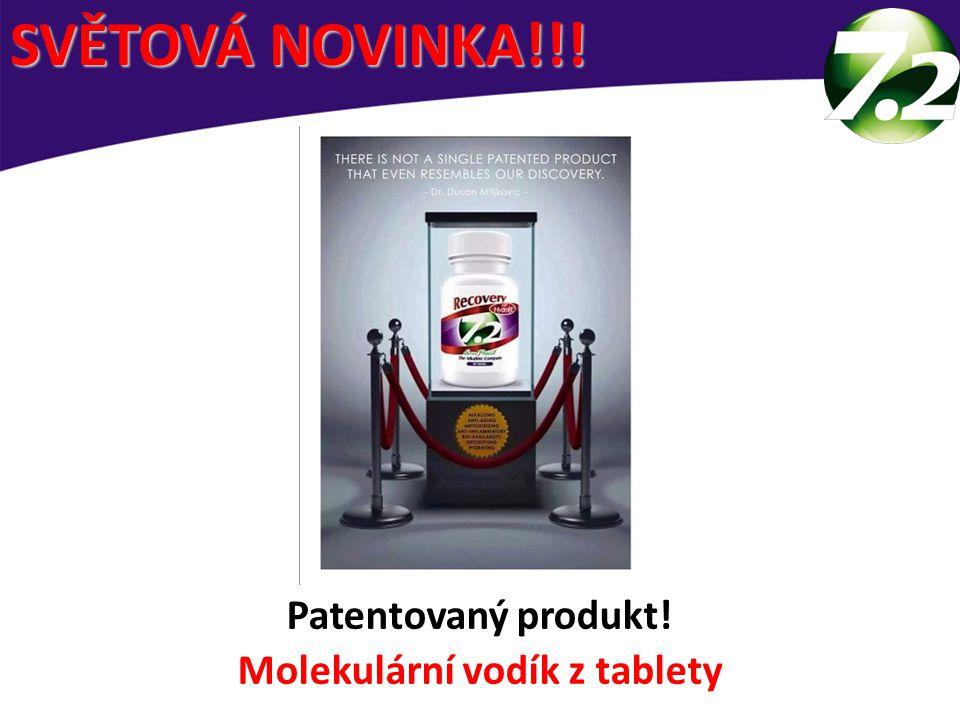 Molekulární vodík z tablety