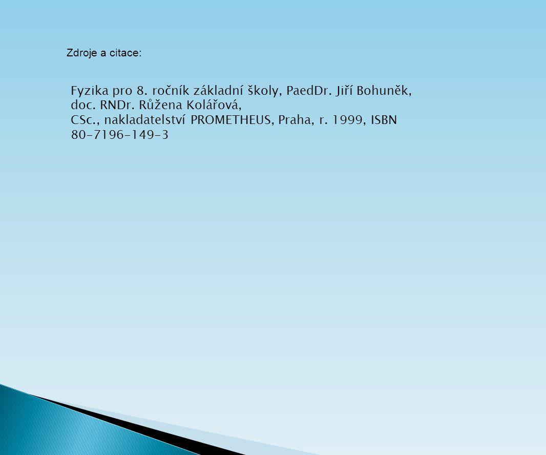 CSc., nakladatelství PROMETHEUS, Praha, r. 1999, ISBN 80-7196-149-3