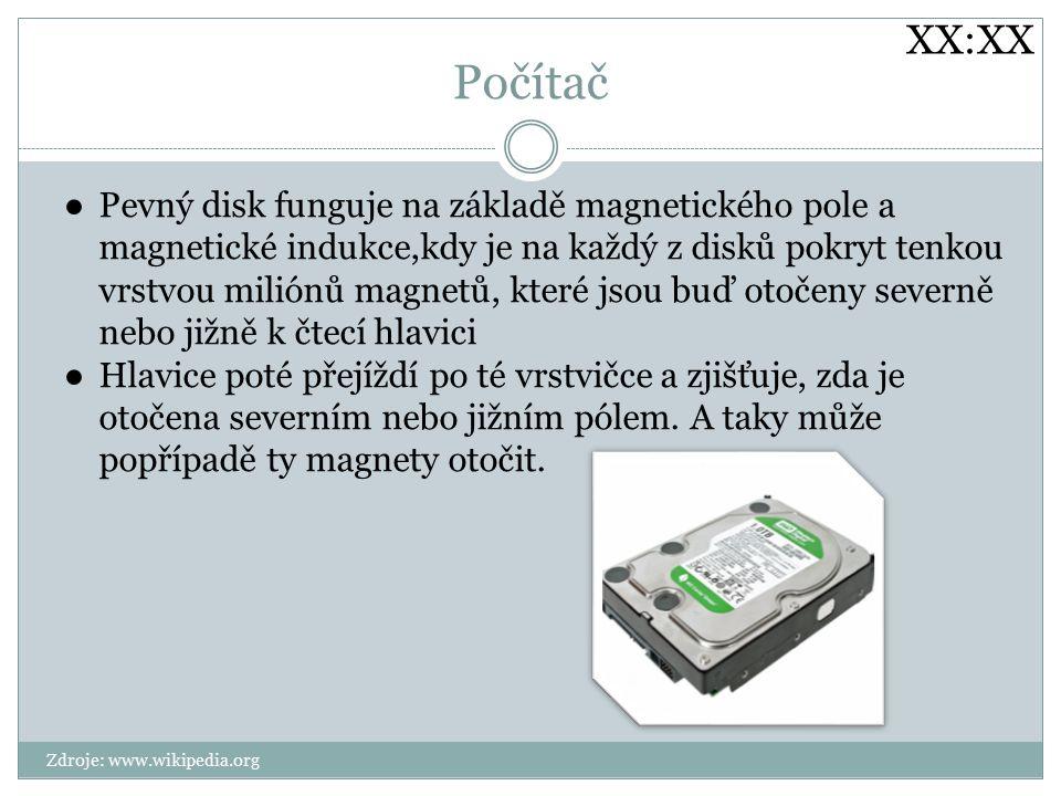 XX:XX Počítač.