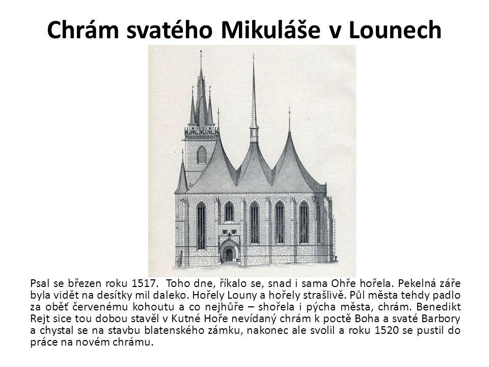 Chrám svatého Mikuláše v Lounech