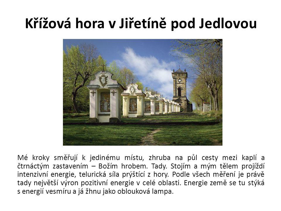 Křížová hora v Jiřetíně pod Jedlovou