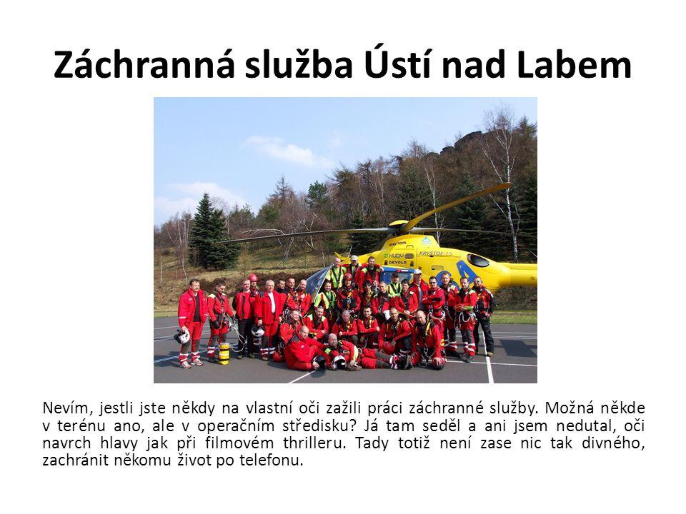 Záchranná služba Ústí nad Labem