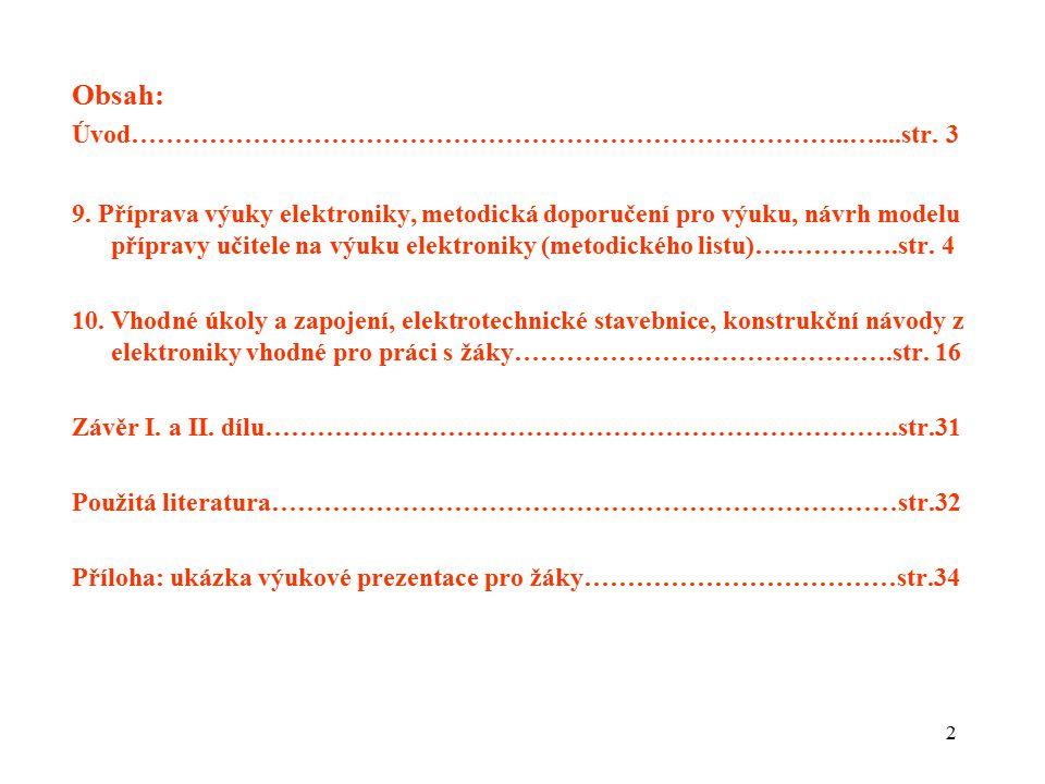 Obsah: Úvod………………………………………………………………………..…....str. 3