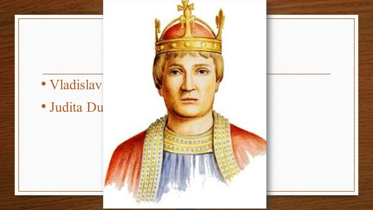 Rodiče Vladislav II. Judita Durynská