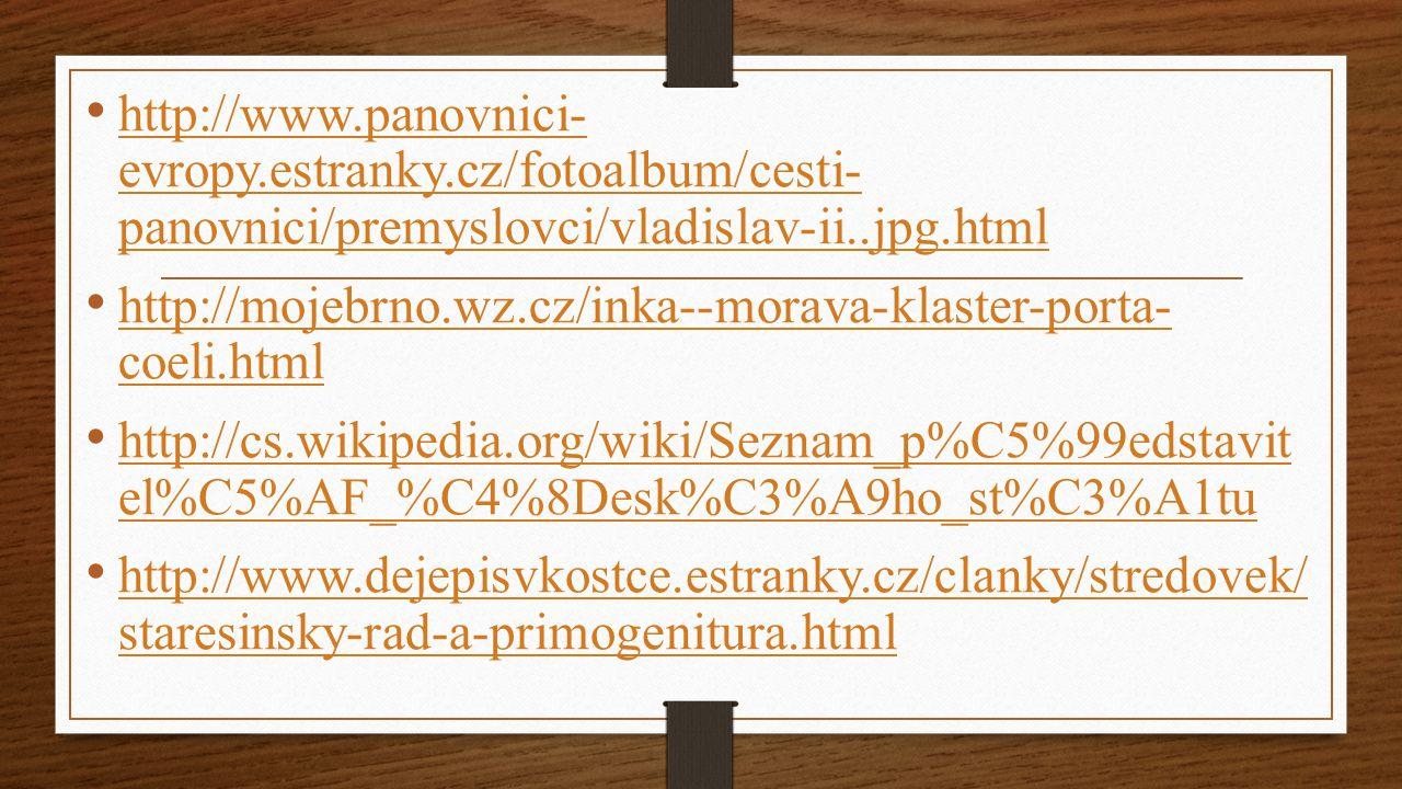http://www. panovnici- evropy. estranky