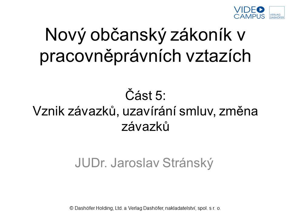 JUDr. Jaroslav Stránský