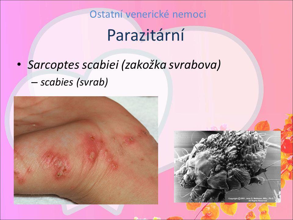 Ostatní venerické nemoci