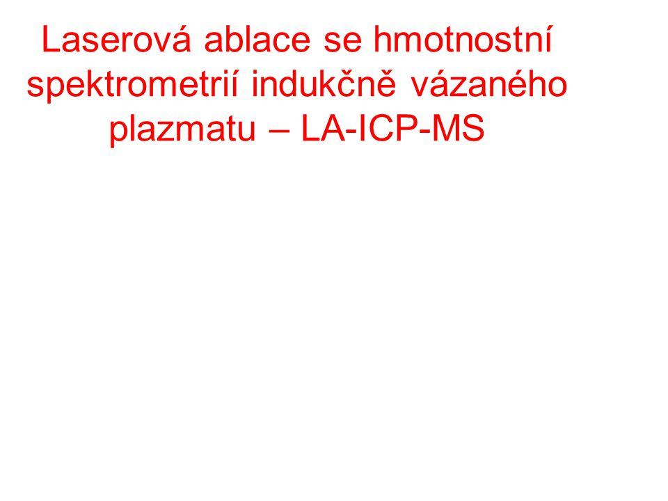 Laserová ablace se hmotnostní spektrometrií indukčně vázaného plazmatu – LA-ICP-MS