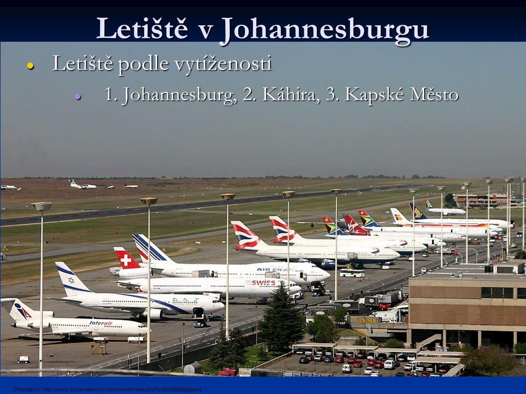 Letiště v Johannesburgu