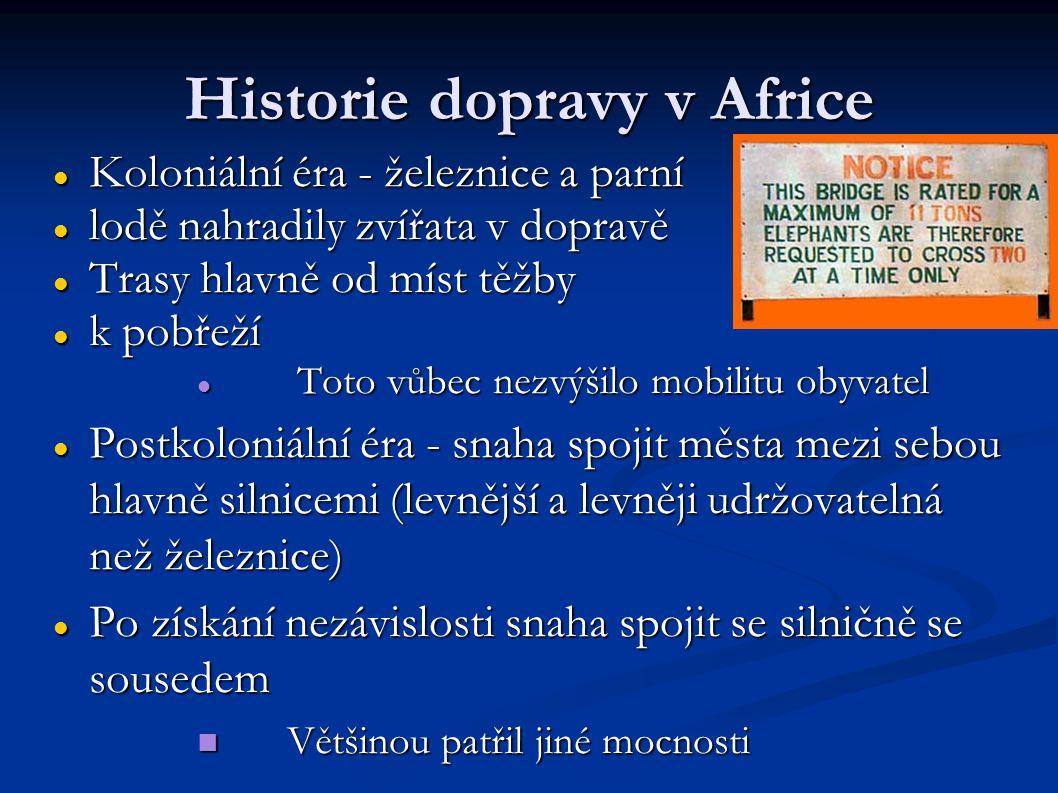 Historie dopravy v Africe