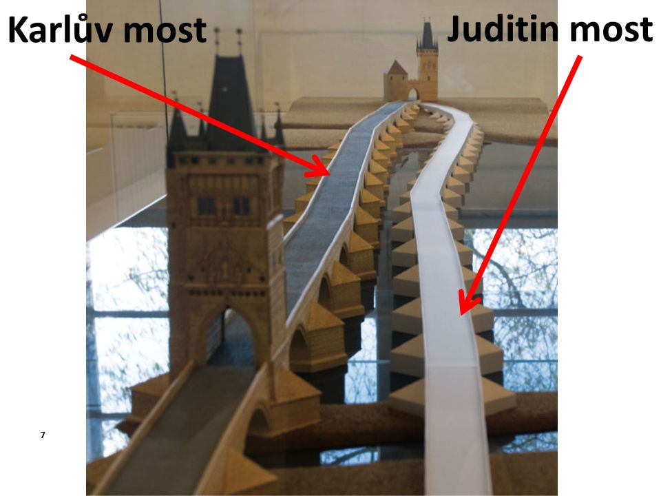 Karlův most Juditin most 7