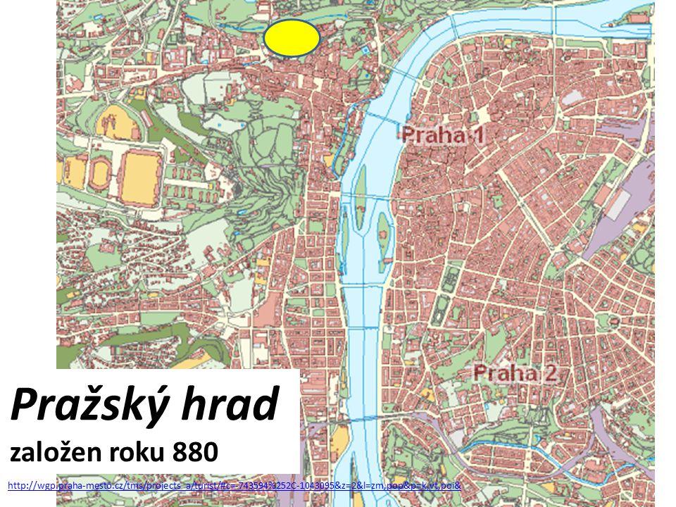 Pražský hrad založen roku 880