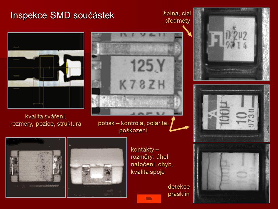 Inspekce SMD součástek