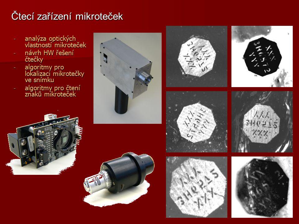 Čtecí zařízení mikroteček