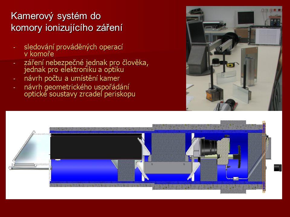 Kamerový systém do komory ionizujícího záření