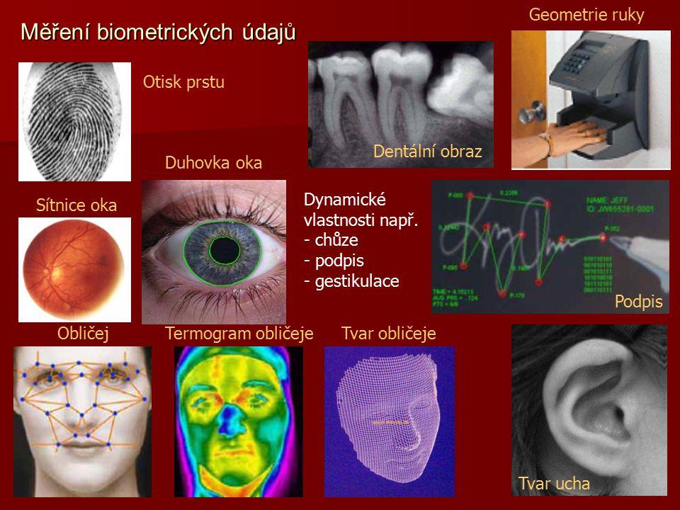 Měření biometrických údajů