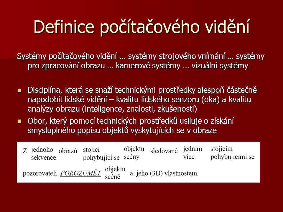 Definice počítačového vidění