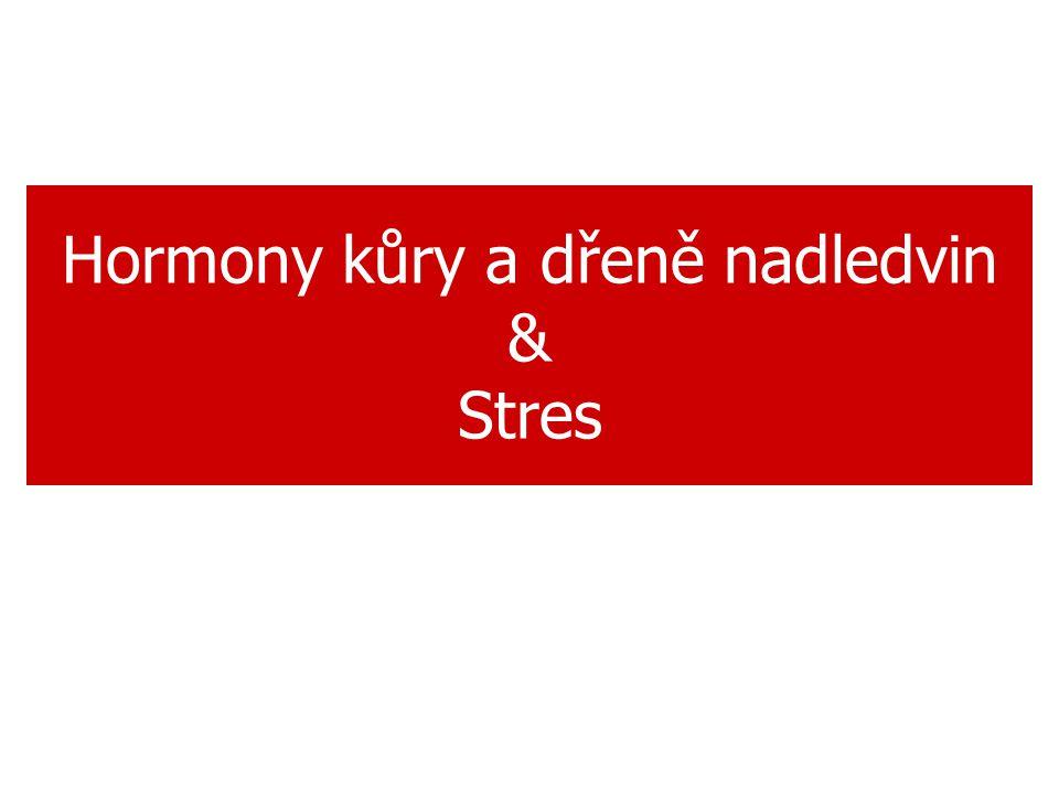 Hormony kůry a dřeně nadledvin & Stres