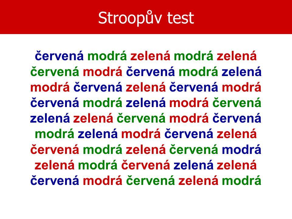 Stroopův test