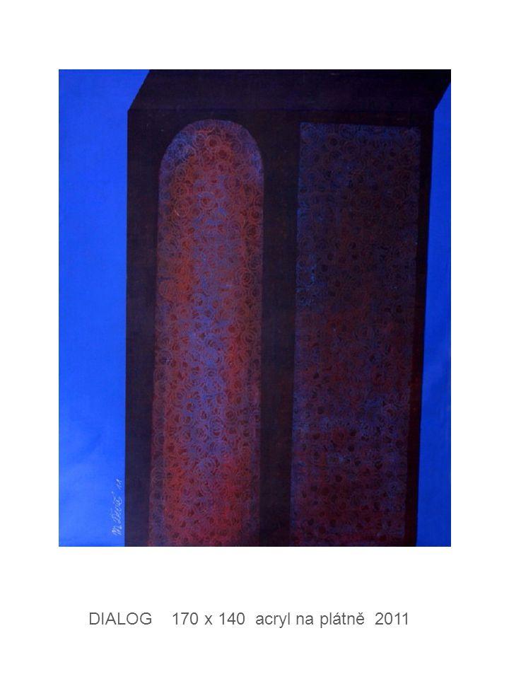 DIALOG 170 x 140 acryl na plátně 2011