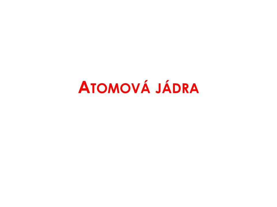 Atomová jádra