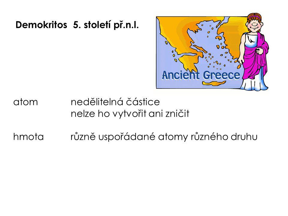 Demokritos 5. století př.n.l.