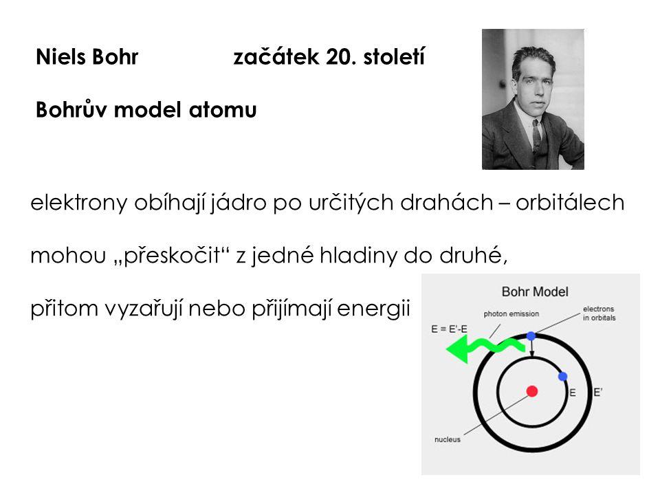 Niels Bohr začátek 20. století