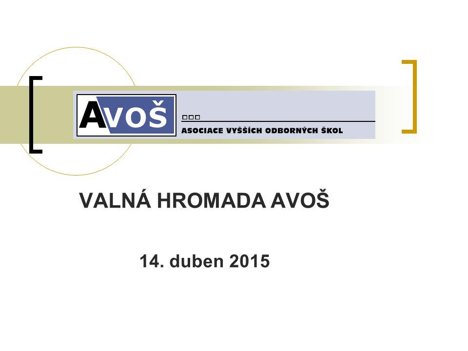 VALNÁ HROMADA AVOŠ 14. duben 2015