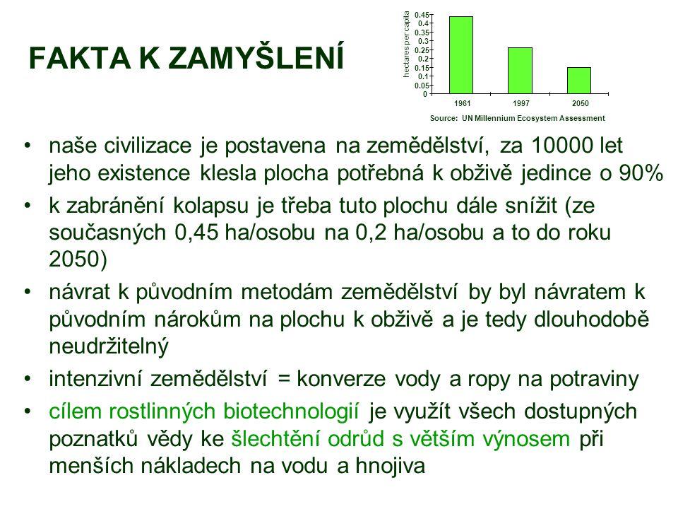 0.05 0.1. 0.15. 0.2. 0.25. 0.3. 0.35. 0.4. 0.45. 1961. 1997. 2050. hectares per capita. Source: UN Millennium Ecosystem Assessment.