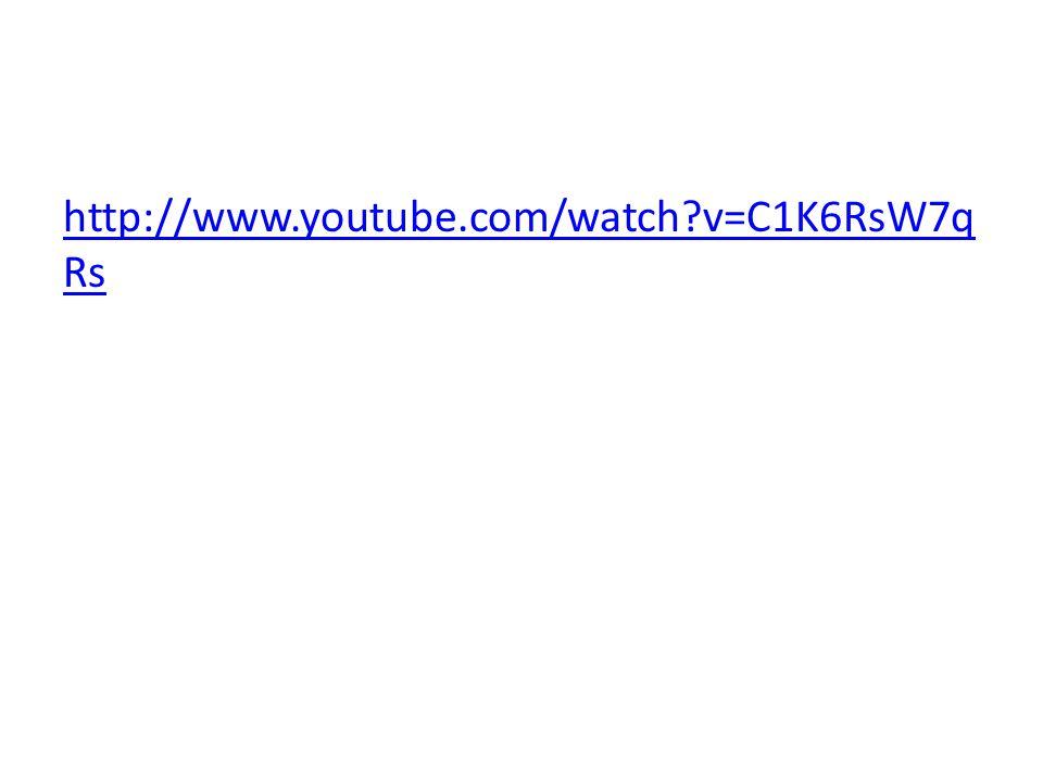 http://www.youtube.com/watch v=C1K6RsW7qRs