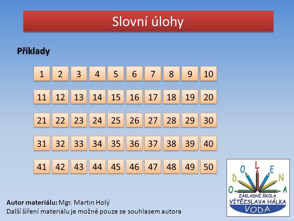 Slovní úlohy Příklady. 1. 2. 3. 4. 5. 6. 7. 8. 9. 10. 11. 12. 13. 14. 15. 16. 17. 18.