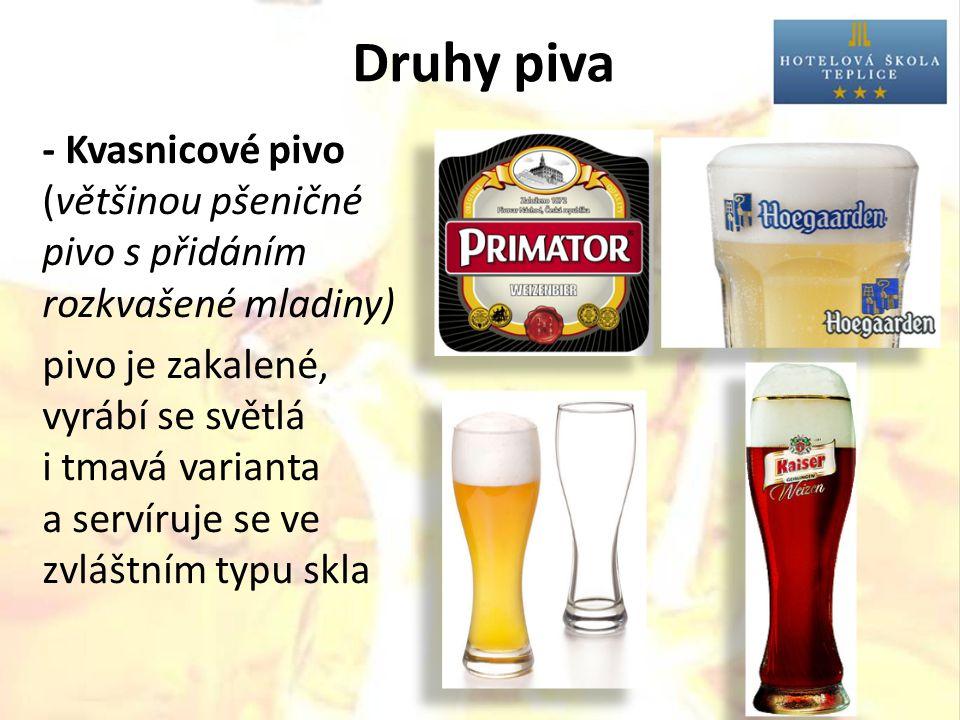 Druhy piva