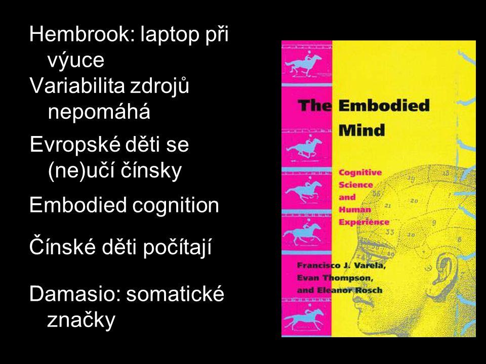 Hembrook: laptop při výuce