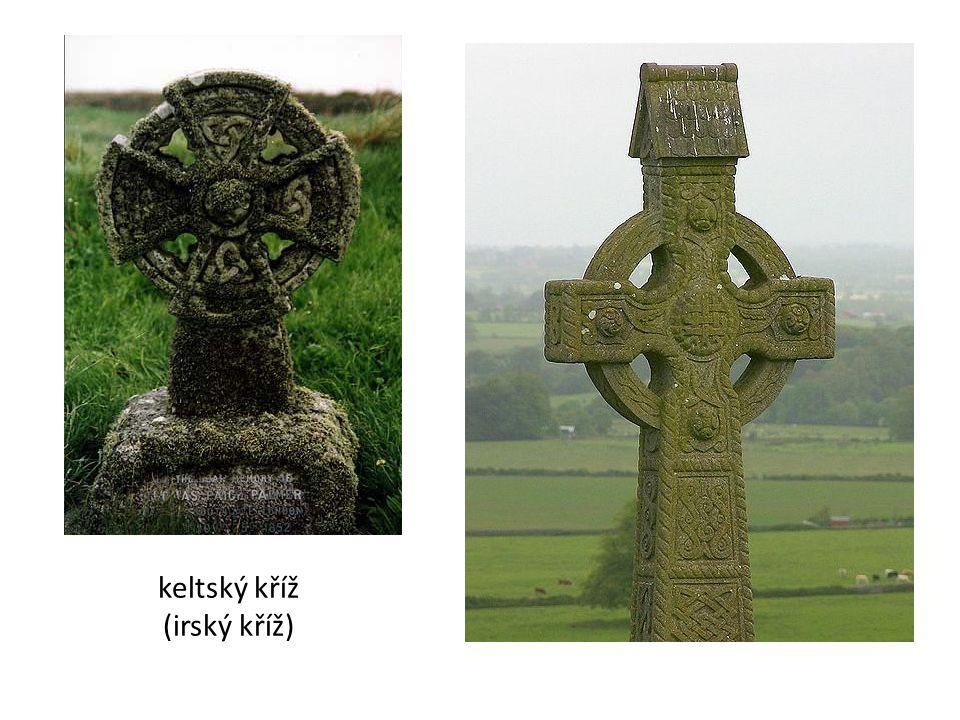 keltský kříž (irský kříž)