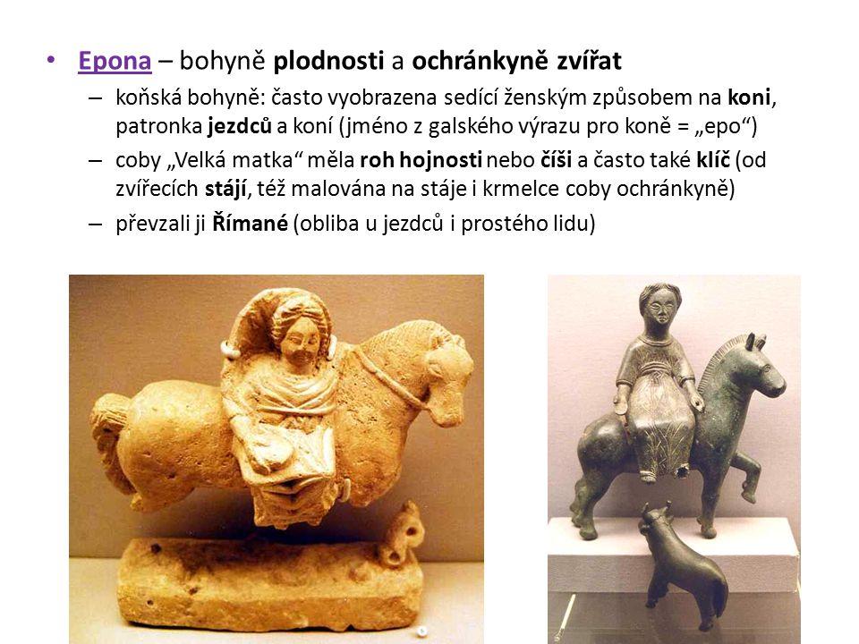 Epona – bohyně plodnosti a ochránkyně zvířat