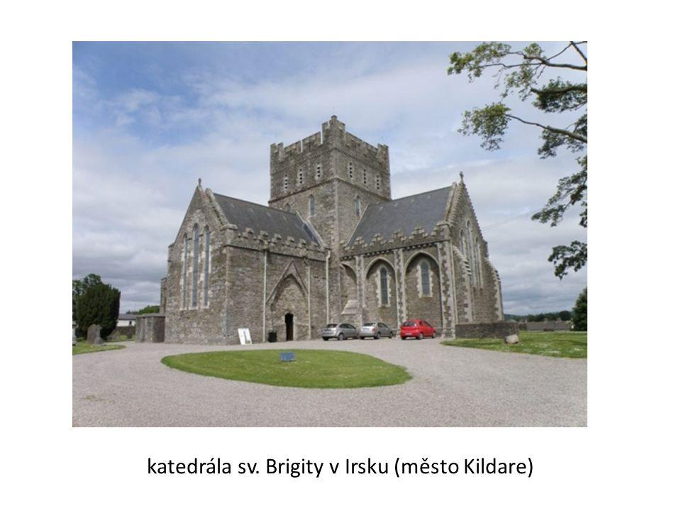 katedrála sv. Brigity v Irsku (město Kildare)