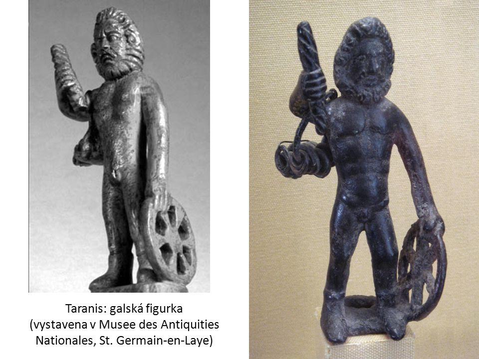 Taranis: galská figurka (vystavena v Musee des Antiquities Nationales, St. Germain-en-Laye)